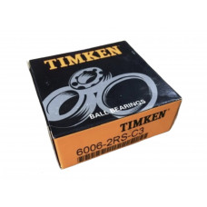 Підшипник кульковий 6006 2RS C3 30*55*13 180106 TIMKEN